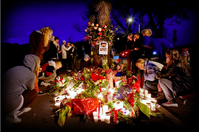 Kristian Helgesens bilde etter en tragisk trafikkulykke på Bygdøy i Oslo ble kåret til Årets bilde for 2008.