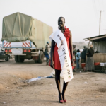 Zed Nelson: Rachel Angeth Madit, Miss South Sudan.