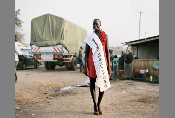 Zed Nelson: Rachel Angeth Madit, Miss South Sudan.