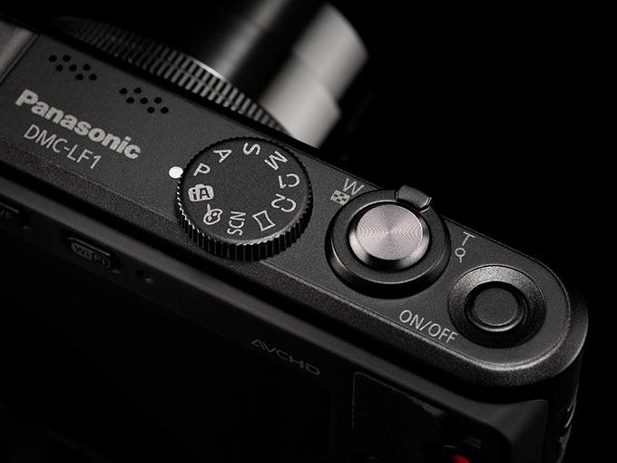 Lumix LF1 alle automatiske og manuelle muligheter du venter i et avansert kompaktkamera.