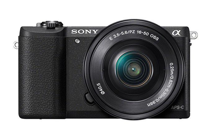 Sony Alpha A5100 har 24 Mp bildebrikke og ny, superhurtig autofokus.