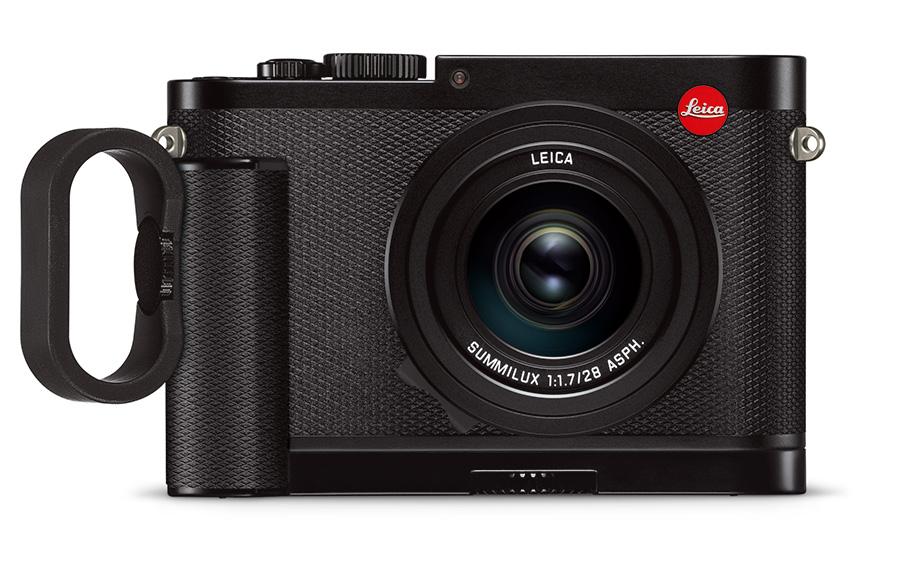 Leica Q med håndgrep.