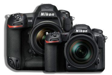 Nikon D5 og Nikon D500
