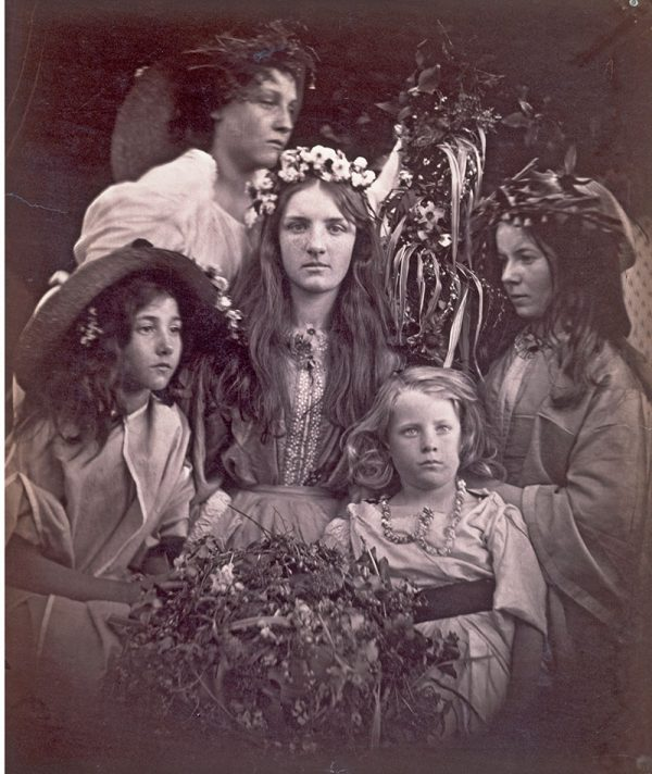 May Day, Julia Margaret Cameron 1865 © Victoria and Albert Museum London
