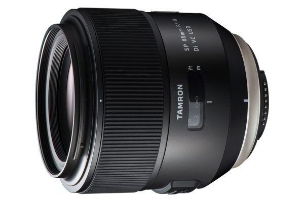 Tamron SP 85mm f/1.8 VC