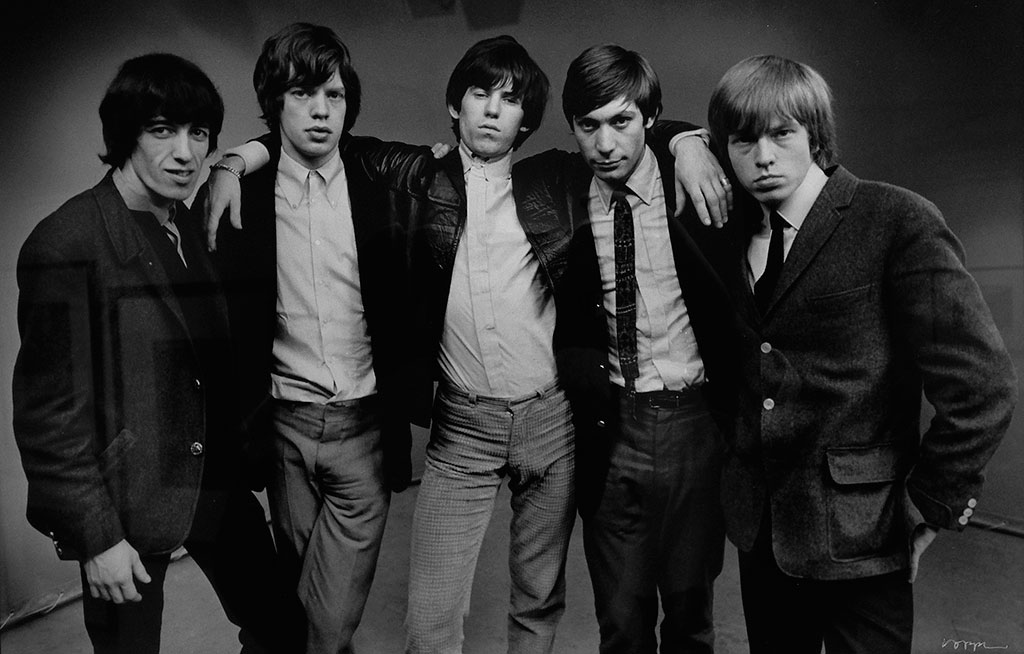 "The Rolling Stones © John ""Hoppy"" Hopkins"