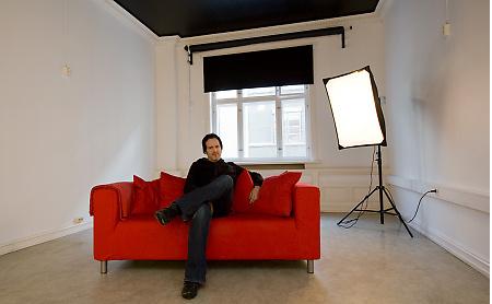 Daglig leder Inge Helland ved Bilder Nordic School of Photography. Foto: Morten M. Løberg