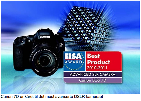 EISA-prisene: Canon og Nikon vant de gjeveste prisene