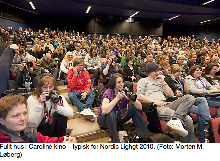 Over 100 % besøksøkning på Nordic Light