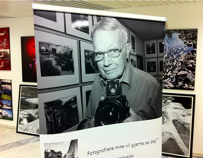 For et par år siden oppsummerte Leif Preus sitt fotografiske liv med en gedigen utstilling i Horten. (Foto: Leif Preus)