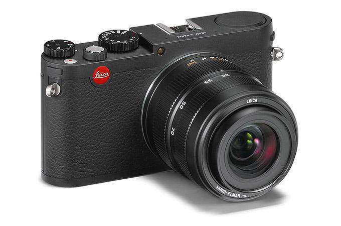 Her ern den nye Leica X Vario med 18-46 mm zoom.