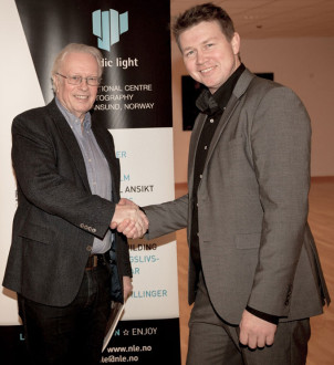 Lars Liabø og Charles Williamsen. Foto: Odd Inge Teige