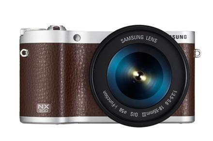 Samsung NX300 er typiske for Samsungs mange søkerløse systemkameraer.