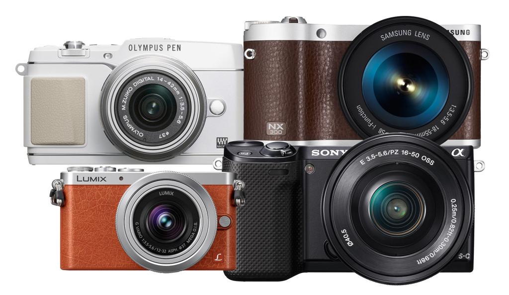 De mest kompakte systemkameraene – hvilke er de beste fra 2013?
