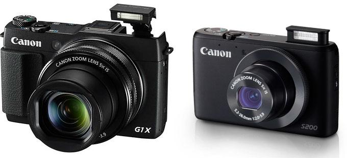 Canon-kompakter