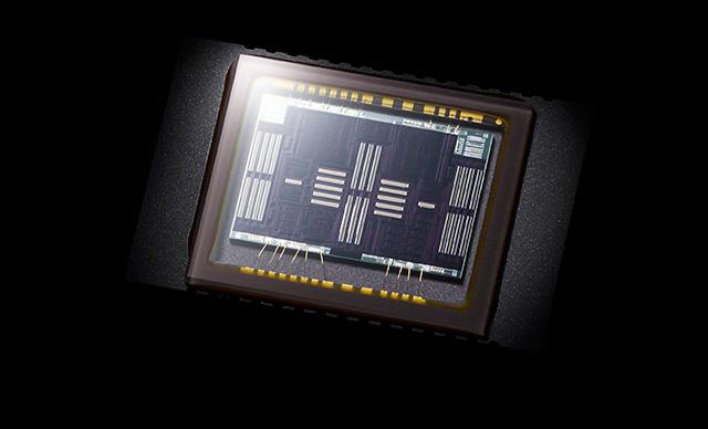 Sonys nye AF-sensor med hele 79 AF-punkter.