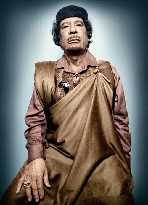 Muammar Gaddafi © Platon