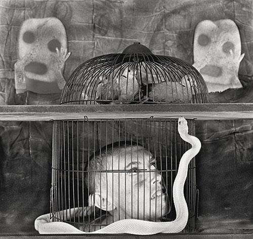 Caged © Roger Ballen