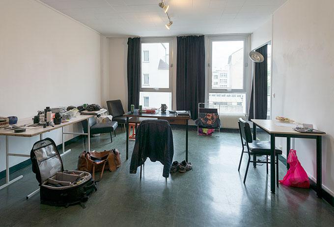 Cité Internationale des Arts rommer 320 atelierleiligheter og jeg begynner å bli innbodd etter litt over to uker her nede.