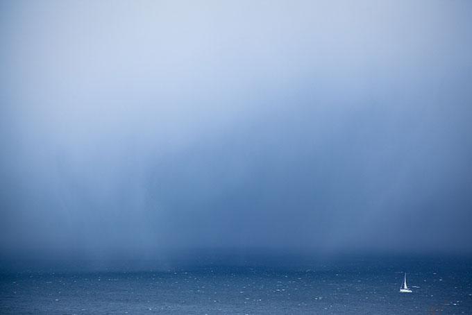 """Foto: Bjarte Hoff. """"Uvær forut"""""""