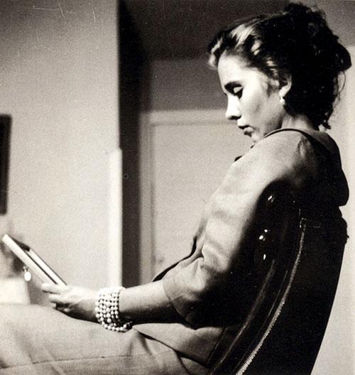 Kati Horna: Elena Poniatowska, 1962.