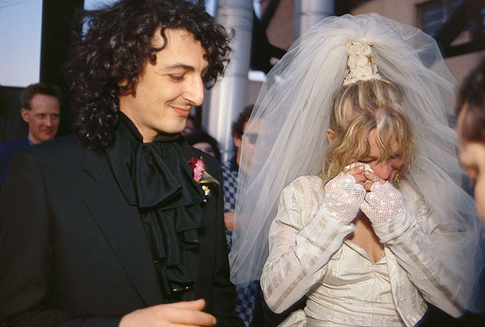 Cookie and Vittorios wedding New York 1986 © Nan Goldin
