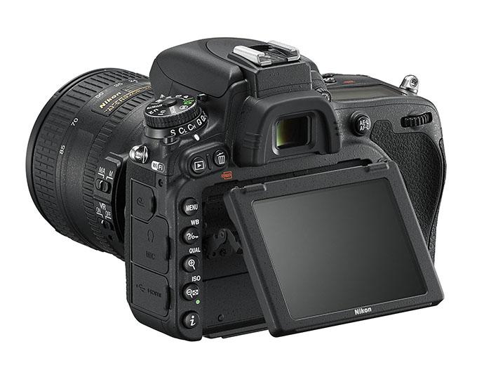 Nikon D750 får vippbar skjerm og gode videoegenskaper.