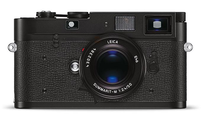 Leica M-A bruker film, og er helt manuelt.