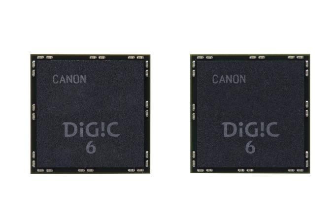 EOS 7D Mk II har to Canon Digic 6-prosessorer til rådighet.