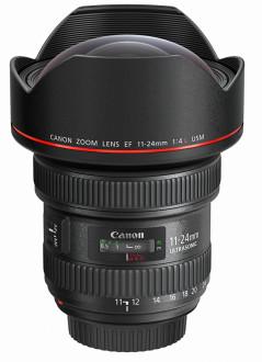 Canon EF 11–14 mm f/4L USM er den kraftigste vidvinkelzoomen hittil for fullformat.