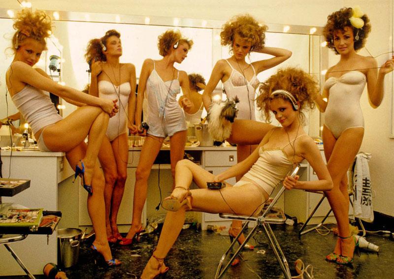 © Hans Feurer. Vogue Italia, 1981