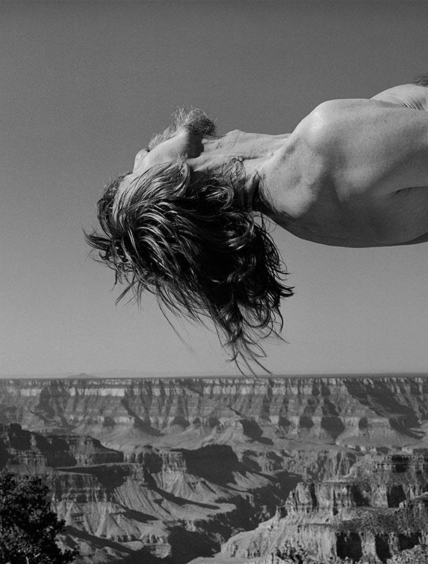 Arno Rafael Minkkinen, Grand Canyon 1995, Courtesy PUG.