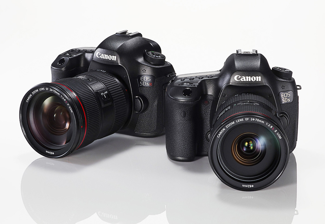 EOS 5DS, EOS 5DS R