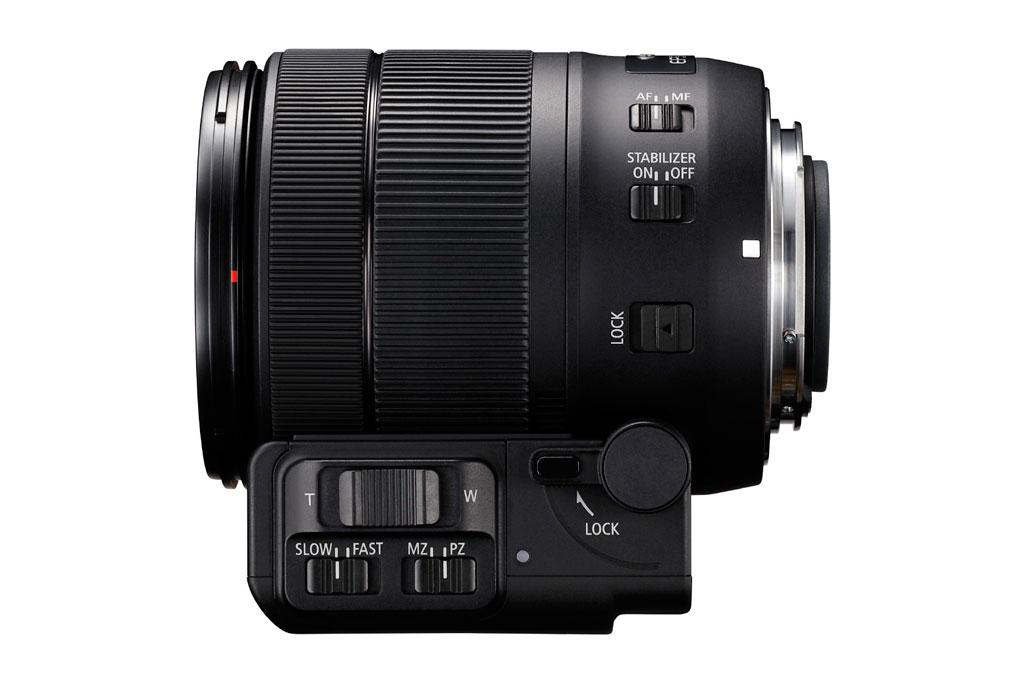 Til den nye kitzoomen EF-S 8–135mm f/3.5–5.6 IS USM har Canon tatt frem en motorisert zoom-enhet som skal øke zoomhastigheten betydelig både til stillbilder og film.