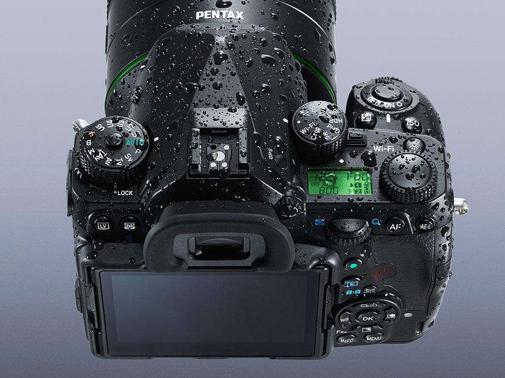 Som vi er vant til fra Pentax har også K-1 en spesielt kraftig værbeskyttelse.