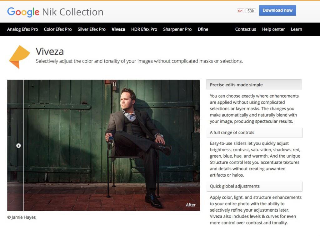 Google Nik Collection gratis