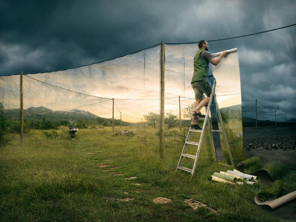 Cover Up © Erik Johansson