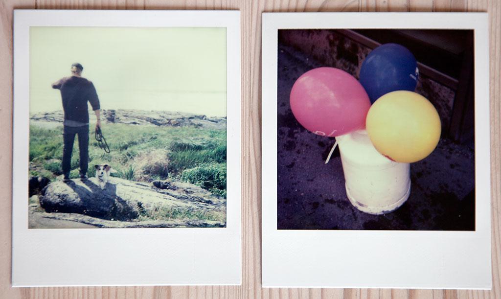 Polaroid SX70 med Impossible Projects fargefilm © Pål Otnes