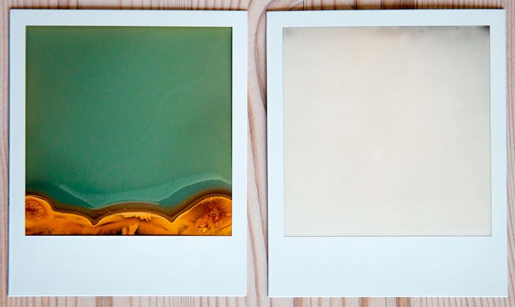 Innkjøringsproblemer med Polaroid SX70 og The Impossible Project © Pål Otnes