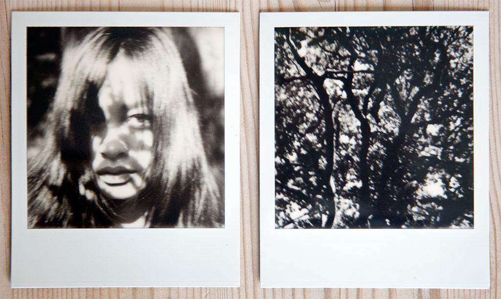 Polaroid SX70 med Impossible Projects sorthvitt-film © Pål Otnes