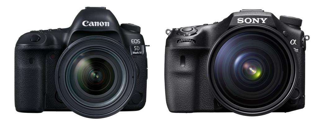 Eos 5D Mark IV og Sony Alpha A99 II. Har du lyst og råd, har du lov.