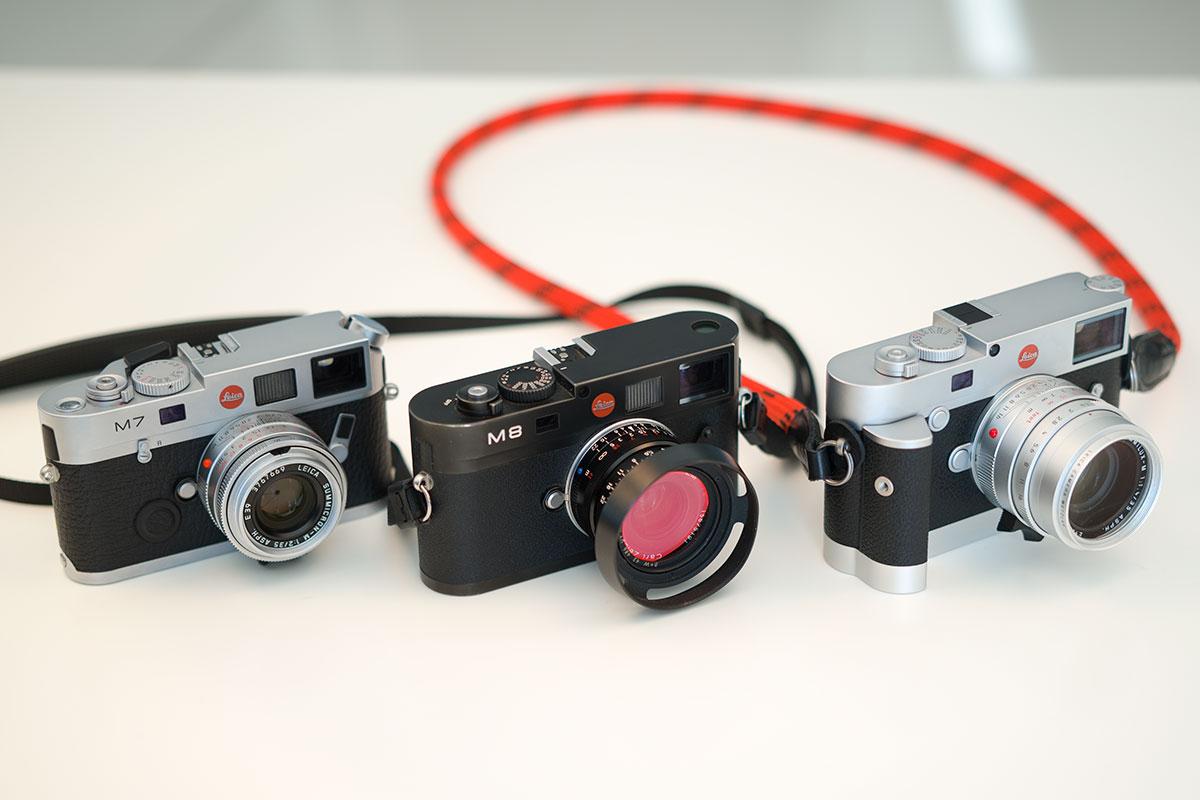 Et utvalg av Leiva M fotografert med nye Leica M10.