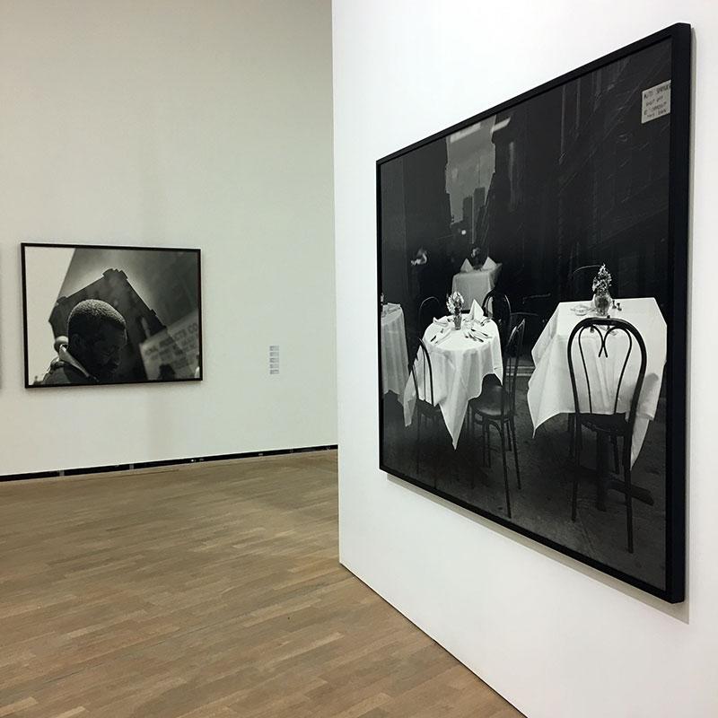 """Fra utstillingen """"Tid som står stille"""" på Henie Onstad Kunstsenter. Foto: Pål Otnes"""